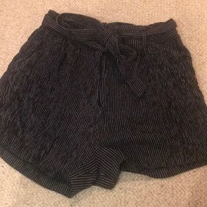striped summer shorts from H&M
